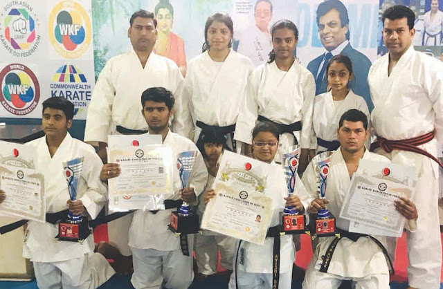 Four players of Faridabad have got the black belt