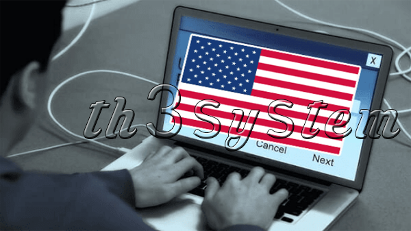 Cyberattack on Iran and several States left with American flag on computer screens products