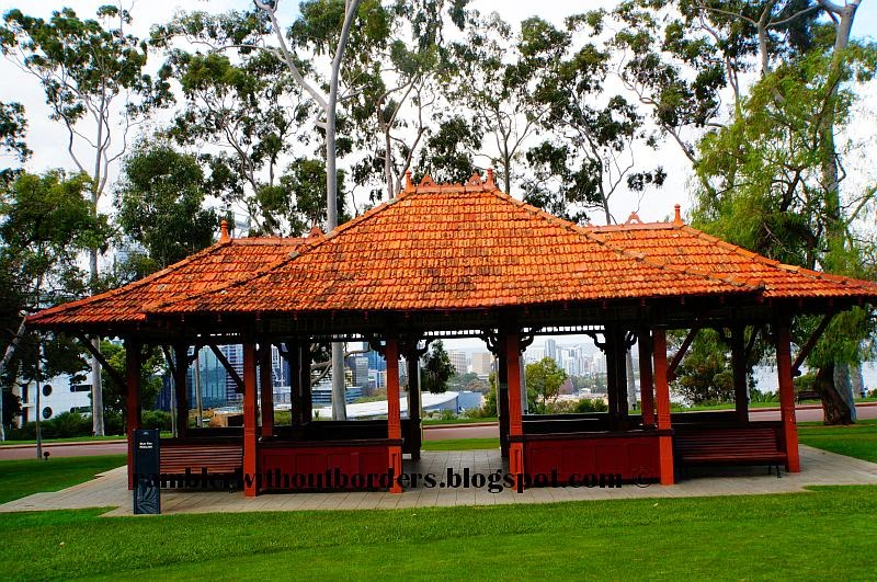 Old Tea Pavilion, Kings Part, Perth
