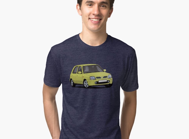 Nissan Micra / Nissan March - T-shirts