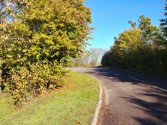photograph of The junction near North Mymms War Memorial featured in the scene  Image by the North Mymms History Project released under Creative Commons