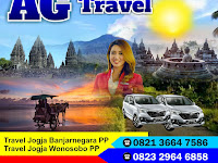 Jadwal AG Travel Jogja Banjarnegara PP