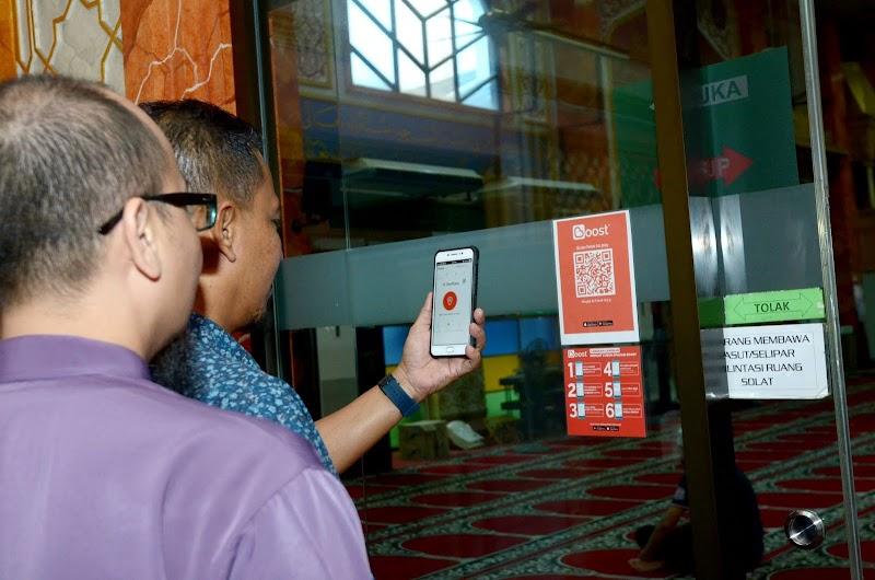 Masjid Al-Falah USJ 9 Melangkah ke Alam Digital Bersama Homegrown e-wallet Boost dan RHB Islamic