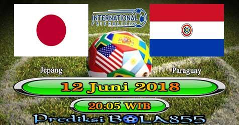 Prediksi Bola855 Japan vs Paraguay 12 Juni 2018