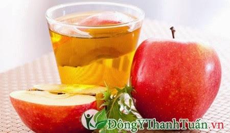 Giấm táo giúp giảm đau dạ dày nhanh