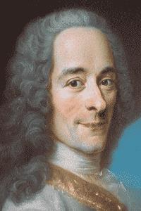 Retrato de François-Marie Arouet, más conocido como Voltaire