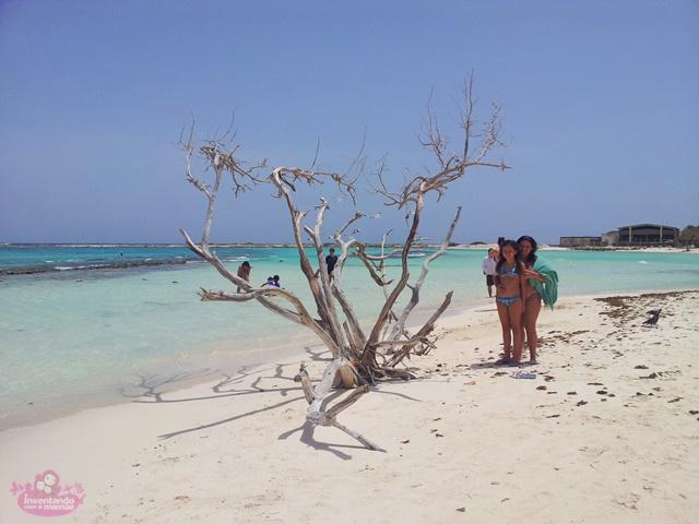 Baby Beach em Aruba