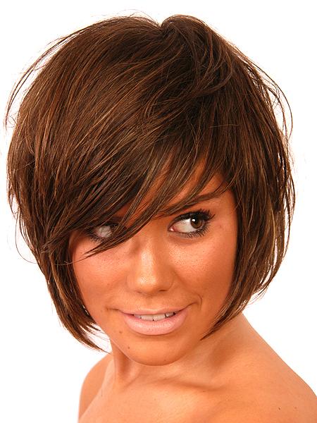 Bob Haircut With Bangs Bob Hairstyle Ideas For Girls Hair Style