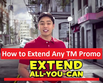 How To Extend Any TM Promo Up To 365x For Only 5 Pesos