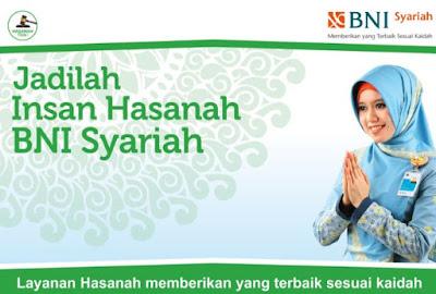 Lowongan Kerja PT Bank BNI Syariah Tingkat SMA SMK D3 S1 Semua Jurusan Rekrutmen Tenaga Baru Seluruh Indonesia