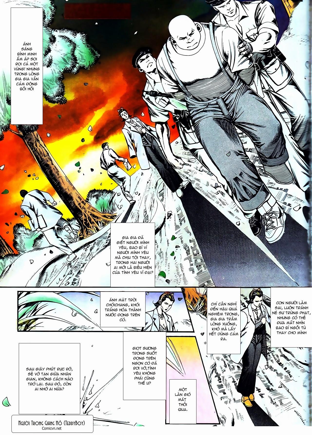 Người Trong Giang Hồ chapter 116: bình minh ló dạng ái tình tan vỡ trang 23