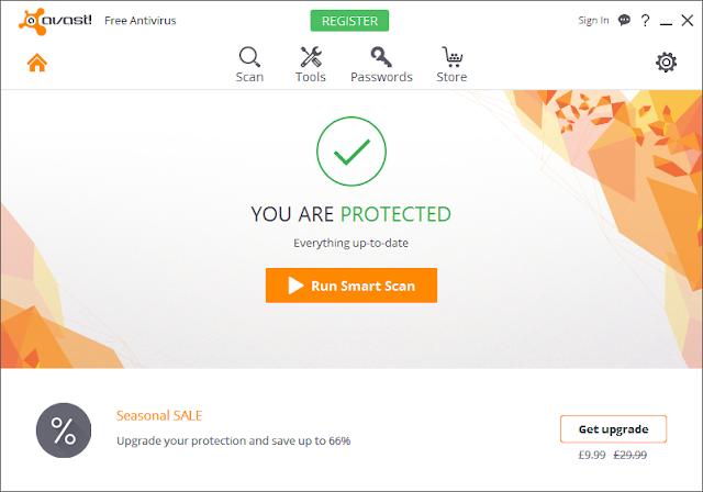 تحميل برنامج افاست لمكافحة الفيروسات أحدث إصدار لويندوز وماك Avast Free Antivirus 12.3.2280