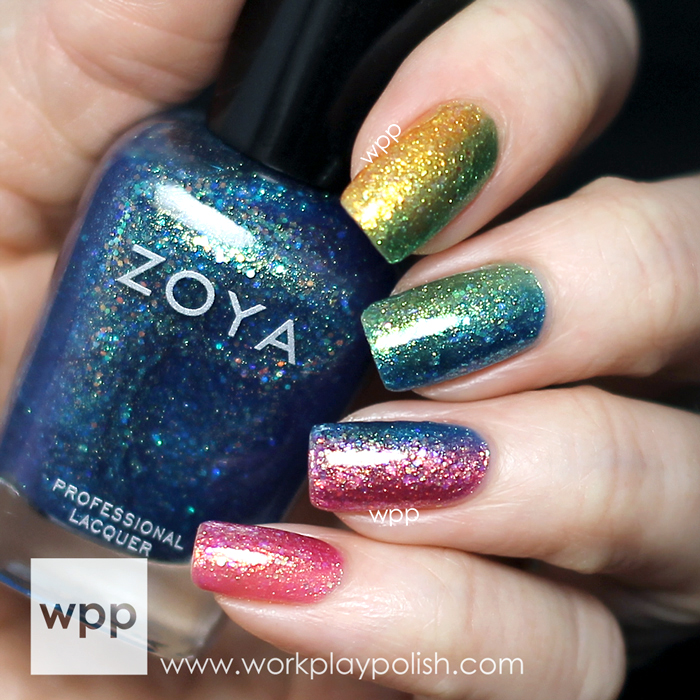 Zoya Bubbly Collection Gradient