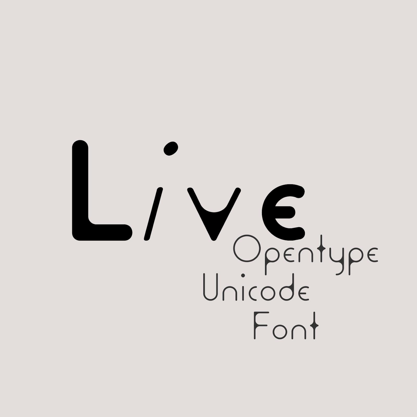 PVF_Live #Free Light #Futuristic #Sans-Serif #Rounded #Geometric #Font