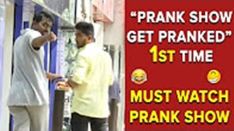 Prank Show Get Pranked 1st Time Must Watch Can't Stop Laughing