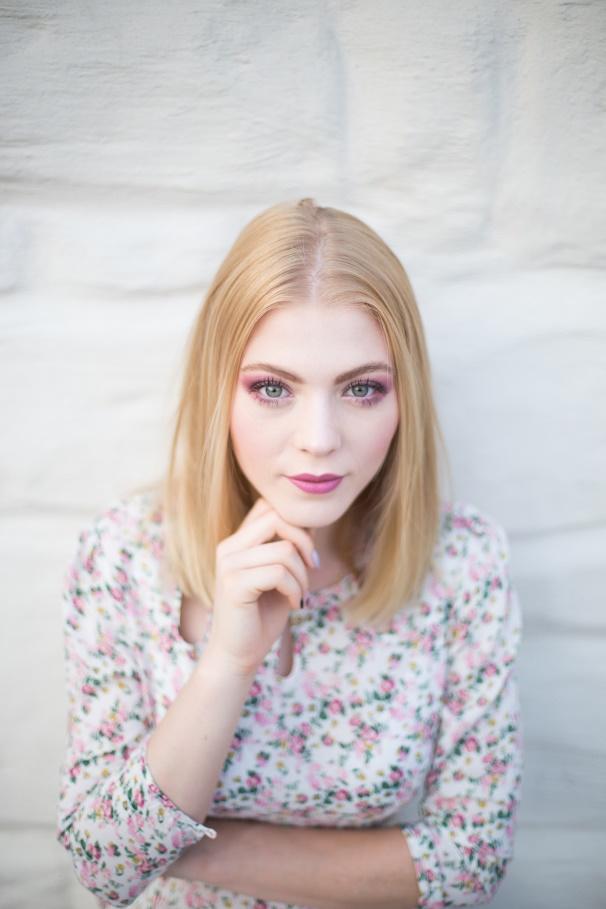 Makijaż blondynki