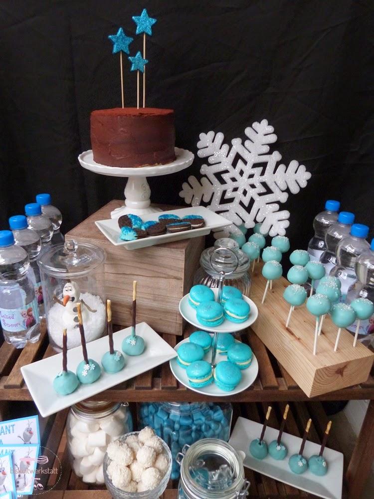 Winterlicher Die Eiskonigin Sweet Table Ohrwurm Garantie