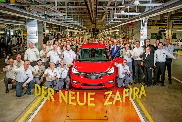 Με πακέτο OPC Line το πρώτο Opel Zafira νέας γενιάς