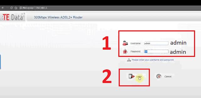 كيفية عمل Reset للراوتر