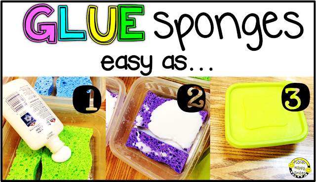 Glue Sponges, How To Make Glue Sponges