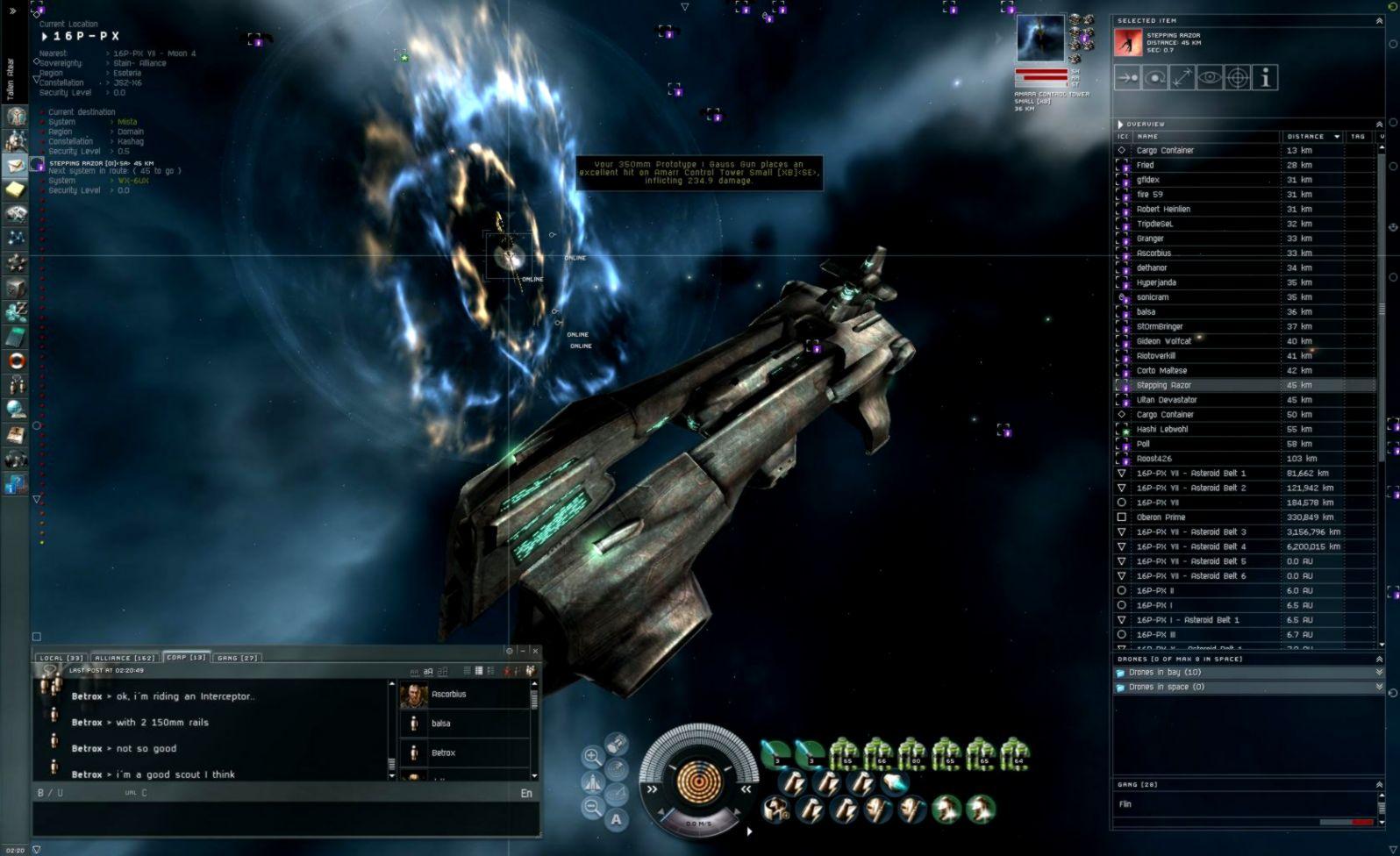 Eve Online Gameplay Screen | Opera Wallpapers