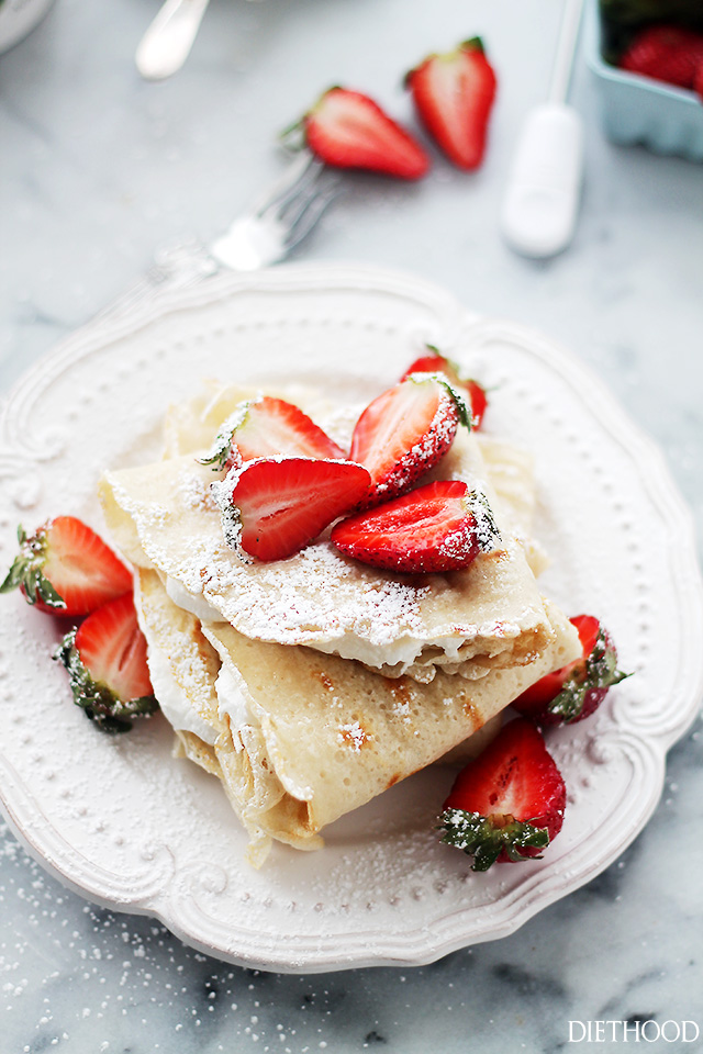2 Ingredient Crepes