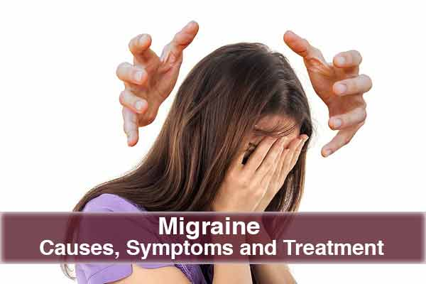 Migraine Causes, Symptoms and Treatment