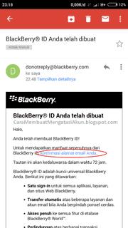 verifikasi akun bbm dengan gmail