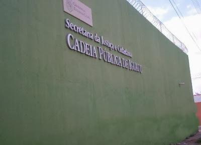 Resultado de imagem para CADEIA PUBLICA EM IGUATU-CE