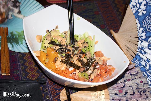 bol poke bowl chirashi sushi