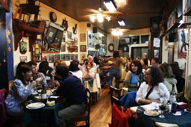 Bar Cizano em Valparaíso