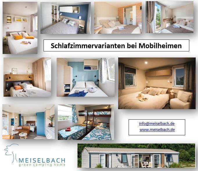 Meiselbach Mobilheime: Mobilheim Schlafzimmer