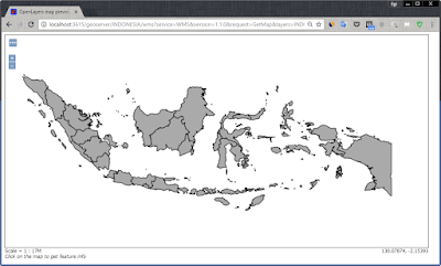 Layer Indo_Provinces di dalam tampilan OpenLayer