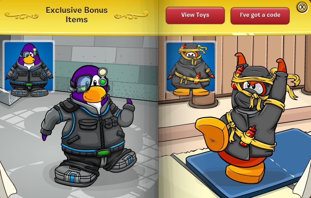 Club Penguin Ninja Game