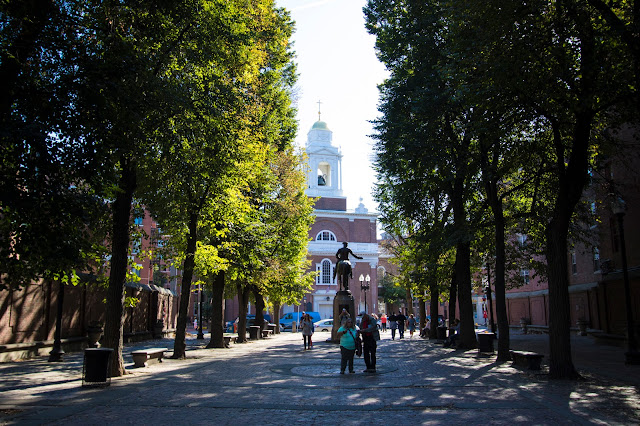Old north church e Copp's hill buying ground-Boston
