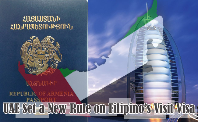 UAE Set a New Rule on Filipino's Visit Visa