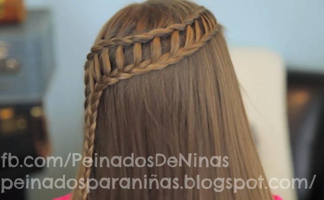 Trenzas Faciles Para Nia Finest Peinados Faciles Para Nia Paso A
