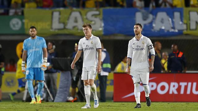 El Real Madrid: Un empate con sabor a derrota contra Las Palmas