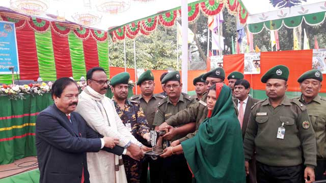 Ansar and VDP district assembly held in Kurigram