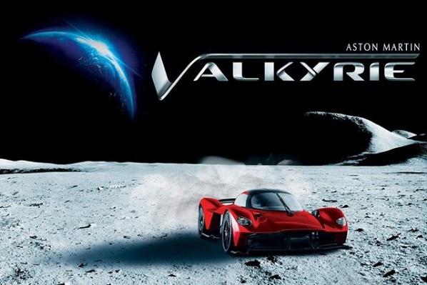 El Aston Martin Valkyrie tiene algo extraterrestre