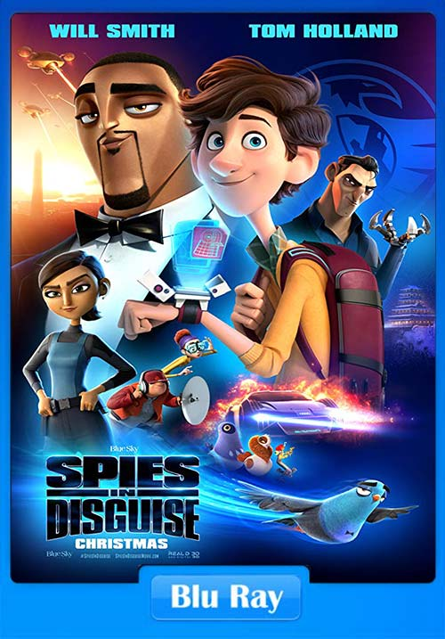 Spies In Disguise 2019 720p BluRay x264 | 480p 300MB | 100MB HEVC
