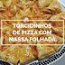 torcidinhos de pizza com massa folhada | aventuras culinárias