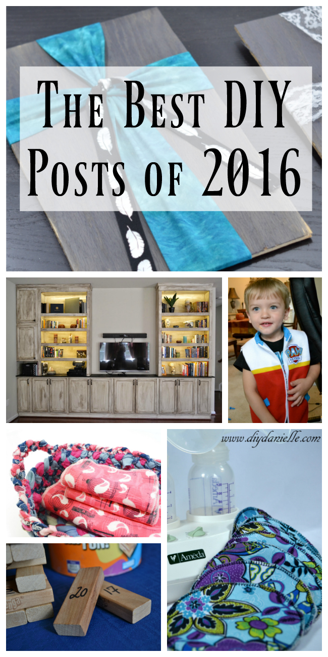 Best DIY Posts from DIYDanielle.com in 2016