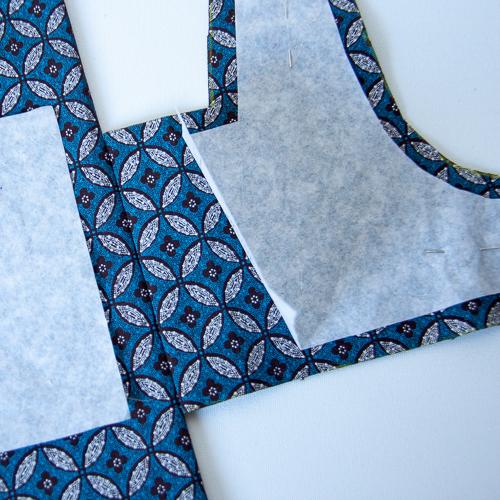 couture blouse en shweshwe
