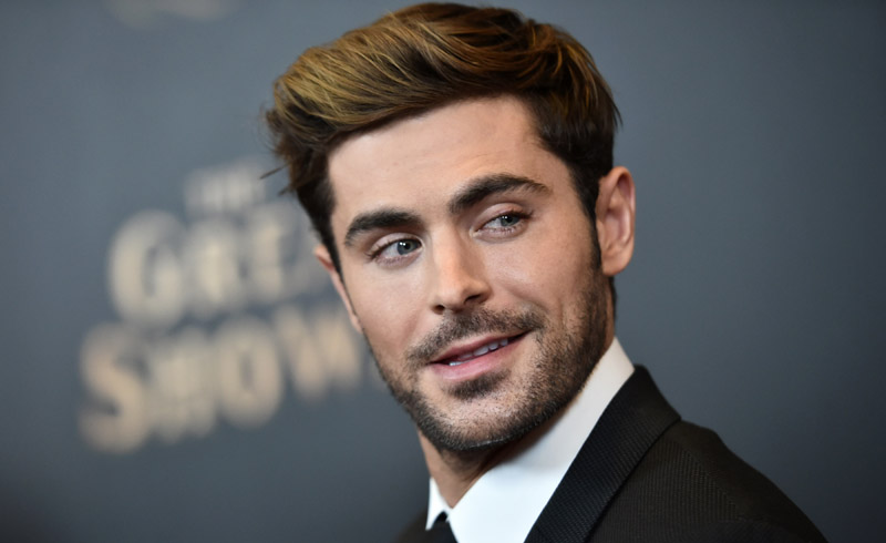 Zac Efron beard, Zac Efron new beard