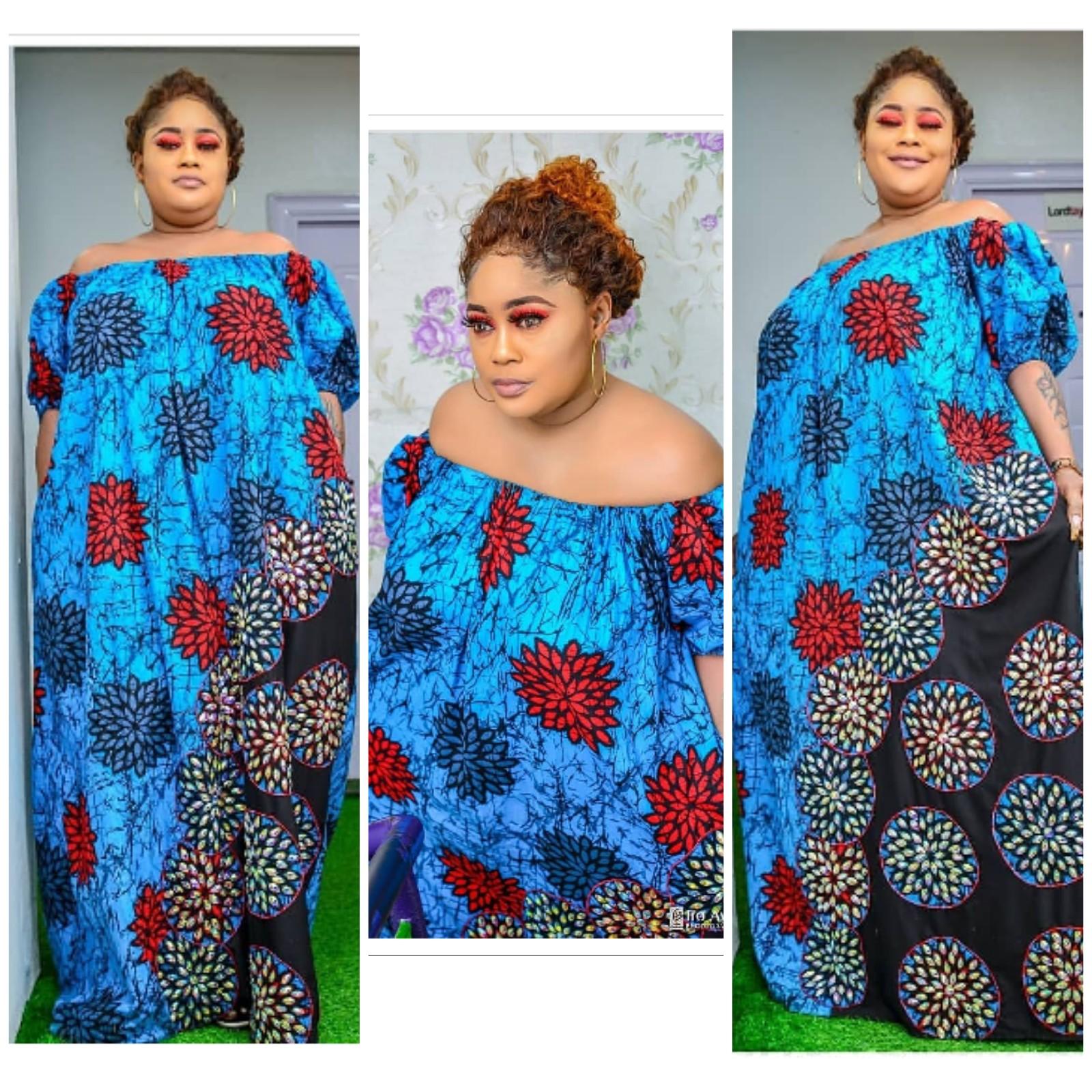 NIGERIAN KITENGE LONG DRESSES~DERA | fashenista