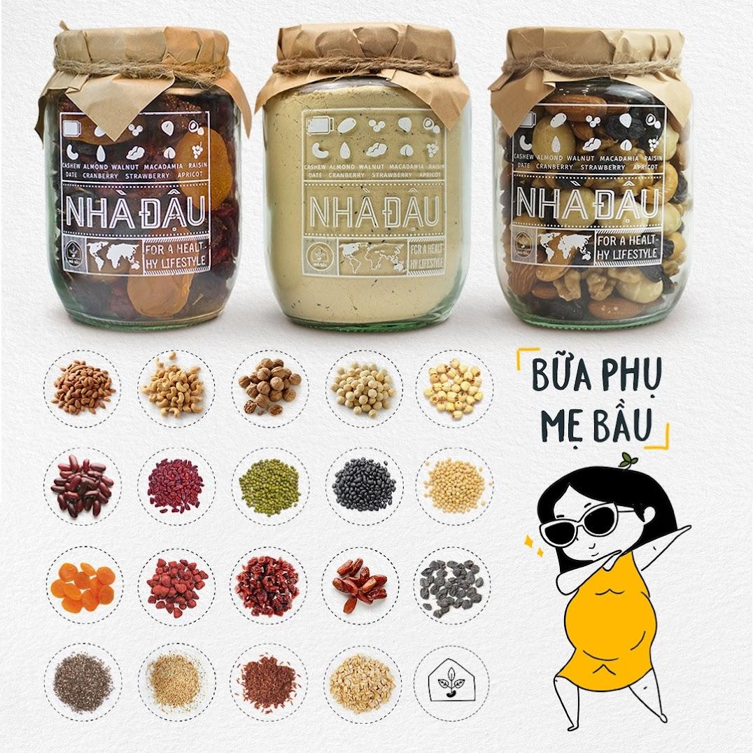 [A36] Mách nước Mẹ Bầu những loại hạt dinh dưỡng nên ăn hàng ngày