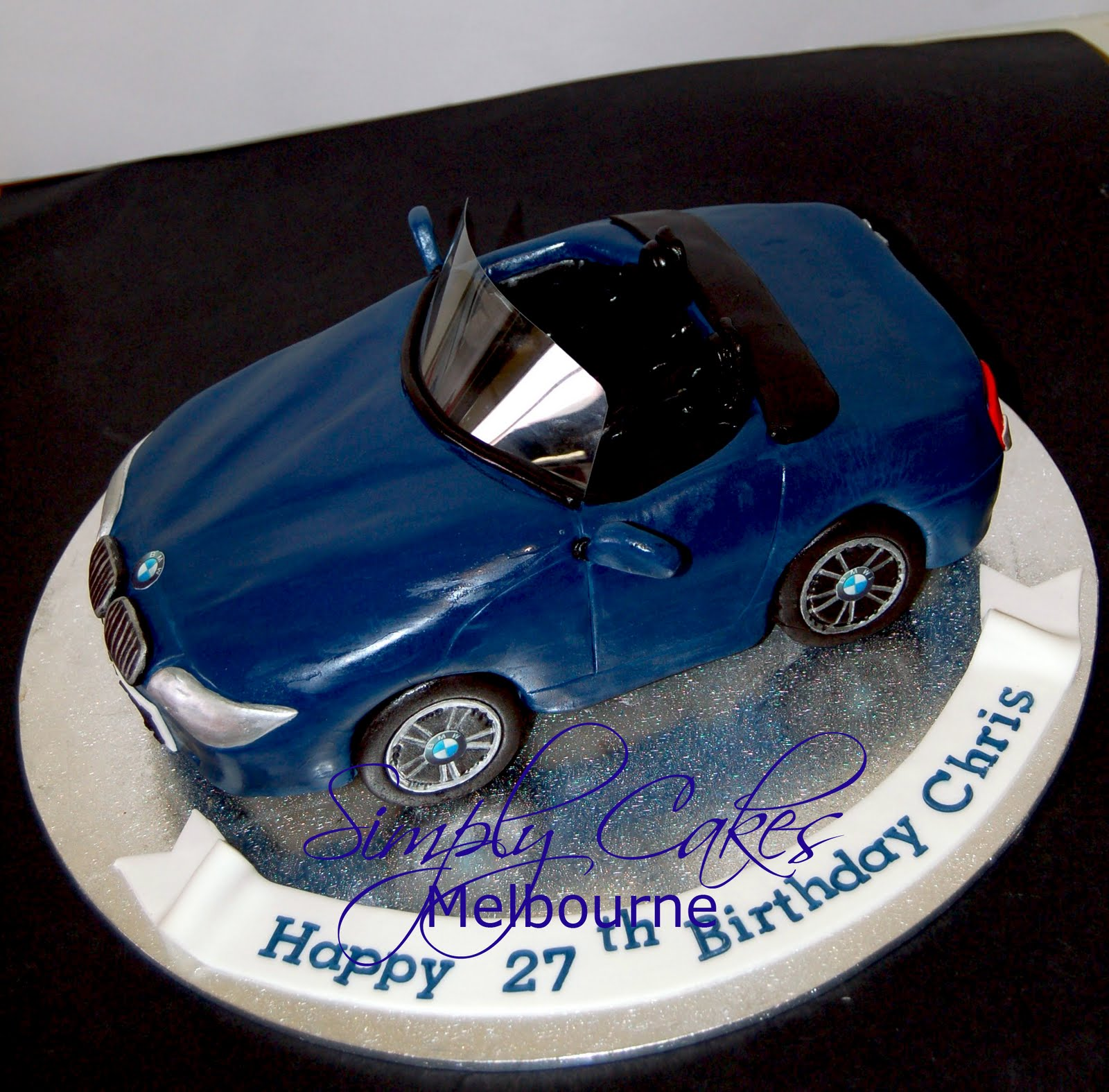 Cooking In Melbourne Bmw Z4 Car Cake