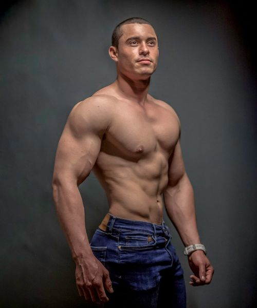 Zaid Valladares Shirtless by Blake Yelavich