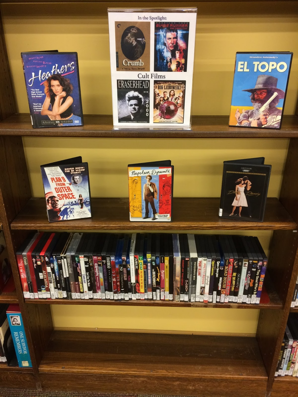 Cult Films DVD Display